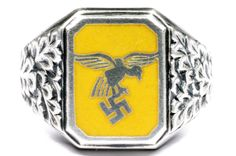 German WWII Luftwaffe Flieger's ring http://germanring.lv/en/luftwaffe/532-german-wwii-luftwaffe-flieger-s-ring.html