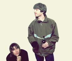 Oasis Brothers, Liam Gallagher Noel Gallagher, Musician Logo, Oasis Band, Liam And Noel, Peel Sessions, Britpop, Best Rock, Post Punk