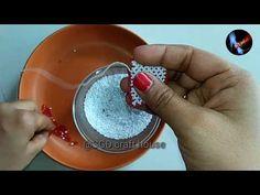 Dal moti square kaise banaye  Toran start kaise kare  Dal moti toran new design - YouTube Bead Embroidery Patterns, Embroidery Designs, App Logo, Diwali Decorations, News Design, Home Crafts, The Creator, Beading, Craft House