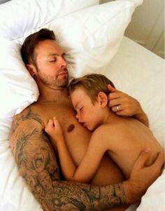 Matt and son Evann ❤️