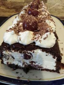 ΜΑΓΕΙΡΙΚΗ ΚΑΙ ΣΥΝΤΑΓΕΣ 2: Black forest σε ρόλο!!! Black Forest, Confectionery, Pudding, Cake, Sweet, Desserts, Food, Candy, Tailgate Desserts