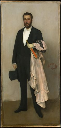 Portrait of Theodore Duret by James McNeill Whistler