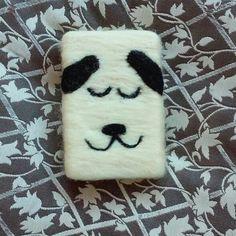 Felt soap dog keçe sabun kese sabun köpekli sabun