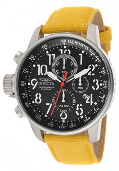Price:$149.99 #watches Invicta 11518, With a bold, masculine design, Invicta chronograph has a poised and calm ambience that's sure to have you looking twice.