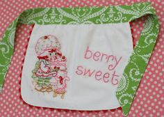 Sew a child's apron - make your own pattern