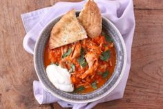 Curry met kip, pompoen en garam massala
