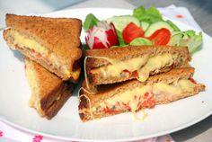 Tuna melt #tosti #tonijn #kaas