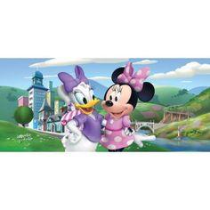 Minnie egeres, Daisy kacsás gyerek poszter (202 cm x 90 cm)