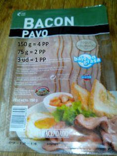 Bacon de Pavo Mercadona - Foto de Eli Recetas Light, Snack Recipes, Snacks, Fresh Rolls, Carne, Chips, Ethnic Recipes, Bacon, Food