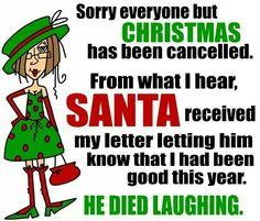 Sorry everyone but Christmas has been cancelled.