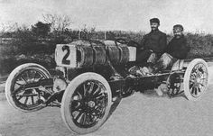 1905 Dufaux speed record car 4 cyl , 264 litre, 150 hp , Frédéric Dufaux