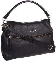 Kate Spade Cobble Hill Little Minka (Black) - Bags and Luggage on shopstyle. ca9b28f176a70
