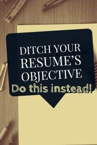 """One of the biggest mistakes we see on resumes is candidates continuing to use the outdated resume """"Objective"""" line at the top. Here's a tip: Delete it. This article shows you what to do instead so you land the interview and then get the job. Resume Writing Tips, Resume Skills, Job Resume, Resume Ideas, Resume Help, Resume Advice, Format Cv, Resume Format, Basic Resume Examples"""