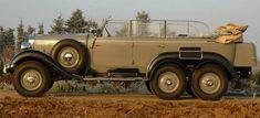Mercedes 540 G4 (1934): cómo un 6×6 único pasó de las manos de Hitler a la Familia Real Española