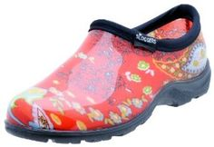 Sloggers Women's Rain and Garden Shoes - Made in the USA by Sloggers ~  4.7 out of 5 stars  See all reviews (472 customer reviews) ~  List Price:$38.29 ~  Price:$26.13 & FREE Shipping.  ~ You Save: $ 12.16 (32%)