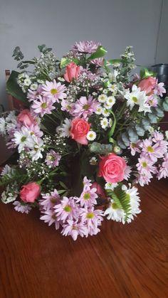 My first flower arrangement