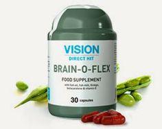 Thực phẩm chức năng Vision BRAIN-O-FLEX có chứa các thành phần cần thiết cho một công việc tốt hơn của hệ thống thần kinh trung ương và cải thiện hoạt động của não.Gồm có: