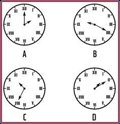 Which of the clock is the odd one out?  #cogzidel #cogzidel_journey #PicturePuzzle