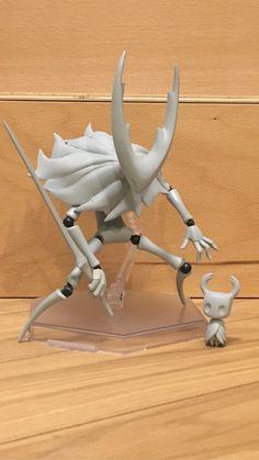 Polygon Modeling, Hollow Art, Hollow Night, Knight Art, Game Character Design, Doll Repaint, Vinyl Toys, Sculpture, Video Game Art