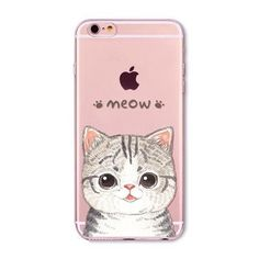 Happy Cat For Apple iPhone 6 6S 5 5S SE 6Plus 6sPlus 5C 4 4S