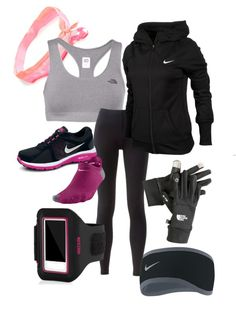 """Winter Fitness"" by aooooot ❤ liked on Polyvore"