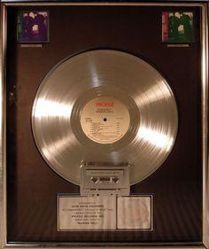Official Riaa Multi Platinum Award For 4 Million Sales Of