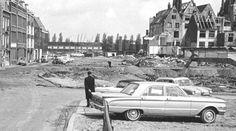 Amsterdam: De Foeliestraat gezien richting de Prins Hendrikkade - 1964
