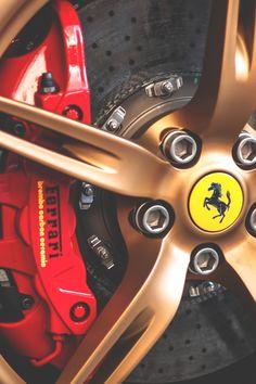 Ferrari brake details