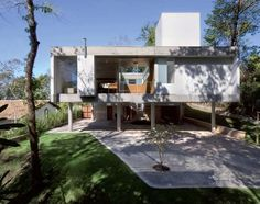 Tecnologia  Como especificar Protagonista no modernismo e brutalismo, o concreto aparente ganha novas aplicações em projetos residenciais