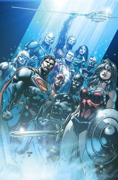 Justice League #34 - JASON FABOK