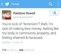 """buttermybooks: """" Have I mentioned how much I love Rainbow Rowell """""""