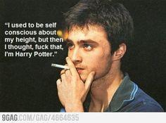 Daniel Radcliffe On Self Confidence