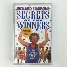 Richard Simmons Secrets of Winners Motivating Stories Weight Loss SEALED 1998 | eBay
