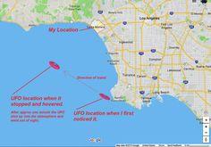 1973 UFO Sighting, Santa Monica, California – The Truth Denied