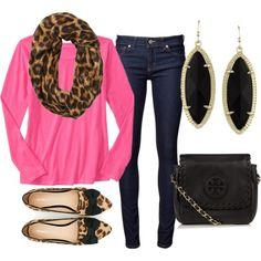 hot pink & leopard