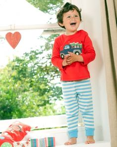 Pickup Truck Pjs - Organic Clothes By Frugi