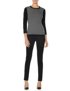 Diamond Pattern Sweater | Women's Sweaters | THE LIMITED