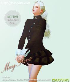 Succubus dress at May Sims via Sims 4 Updates