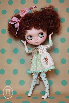 Re-Custom Commission Blythe Doll. | Flickr - Photo Sharing!