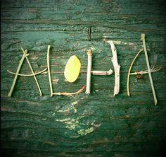"One thing Hawaii symbolizes is a relaxation. And oftentimes, relaxation leads to fun, creative displays like this ""Aloha. Aloha Hawaii, Aloha Surf, Hawaii Pictures, Aloha Spirit, Hawaiian Tropic, All Nature, Set You Free, Hawaiian Islands, Surfs Up"
