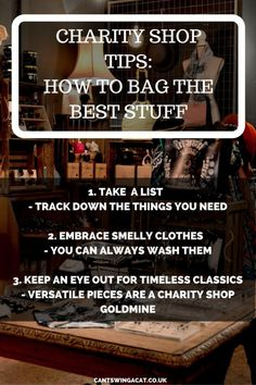 Charity Shop Tips - How To Bag The Best Stuff