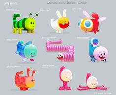 ANIMATION / GAMES: CHARACTER DESIGN by Pedro Bascon, via Behance