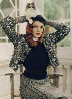 Fuzzy Logic I US Vogue I September 2005 I Model: Karen Elson, Editor: Tabitha Simmons, Photographer: Tim Walker.