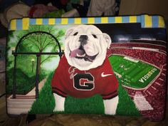 AMAZING UGA COOLER