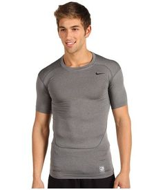 S Regular Size Running Athletic Shirts & Tops for Men Nike Pro Combat, Nike Pros, New Man, Heather Black, Black Men, Nike Men, Athletic, Pullover, Core