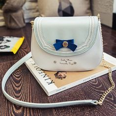 19.34$  Buy now - http://diq3h.justgood.pw/go.php?t=184642906 - Sweet Color Block and Bow Design Women's Crossbody Bag 19.34$
