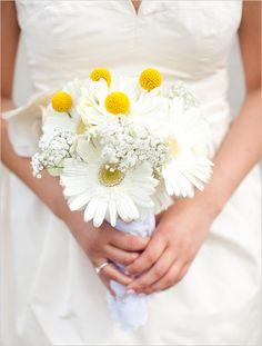 gerber daisy bridal boquet