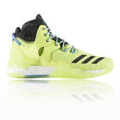 new product c63c1 ae8ba a adidas hombre amarillo baloncesto zapatos peso ligero transpirables  zapatillas