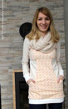 Kleid oder Longshirt nähen Milchmonster Martha
