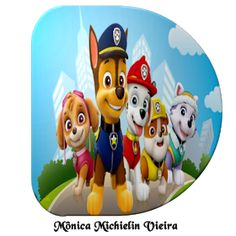 Alfabeto Disney, Paw Patrol Decorations, Cumple Paw Patrol, Printable Alphabet Letters, Cry Baby, Yoshi, Bowser, Gabi, Template